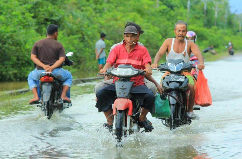 Hujan Ekstrim dan Banjir di Aceh karena Alih Fungsi Lahan